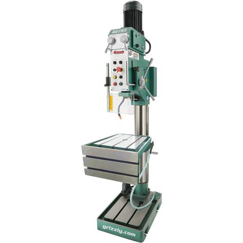 grizzly tapping machine