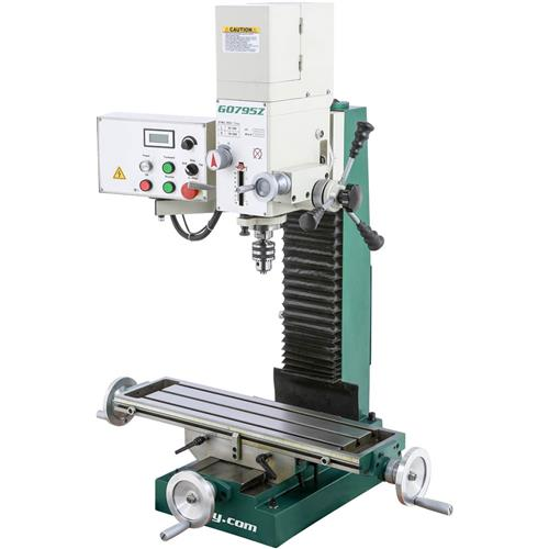 Heavy Duty Benchtop Mill Drill With Variable Speed Head