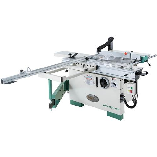 12 Compact Sliding Table Saw Grizzly Industrial