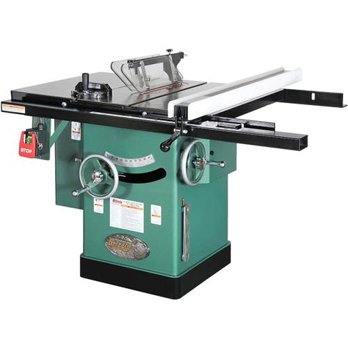 10 3 hp 240v cabinet left tilting table saw grizzly for 10 hybrid table saw