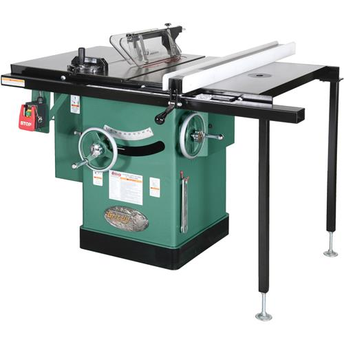 G1023rlw 10 3 Hp 240v Cabinet Left Tilting Table Saw Ebay