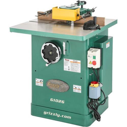 3 Hp Shaper Grizzly Industrial
