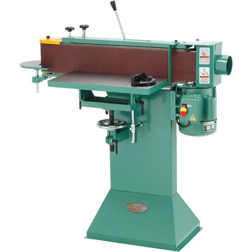 G1140 grizzly 6 x 80 floor model edge sander ebay for 10 inch sanding disc table saw