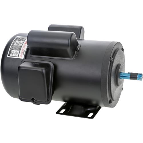 Motor 2 hp single phase 3450 rpm tefc 110v 220v grizzly for 2 hp electric motor single phase