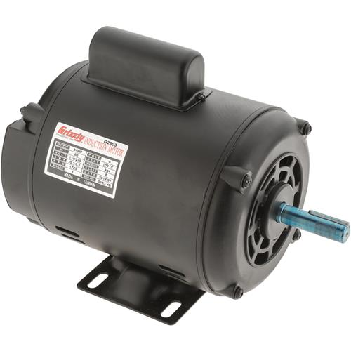 motor 3 4 hp single phase 1725 rpm open 110v 220v