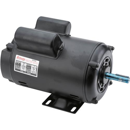 Motor 2 hp single phase 3450 rpm open 110v 220v grizzly for 3 hp single phase 220v motor