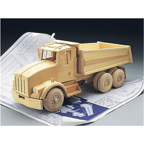 Toy Truck Plans : Kenworth dump truck plans grizzly industrial