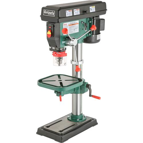 G7943 Grizzly 12 Speed Heavy Duty Bench Top Drill Press New Ebay