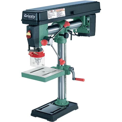 5 Speed Bench-Top Radial Drill Press | Grizzly Industrial