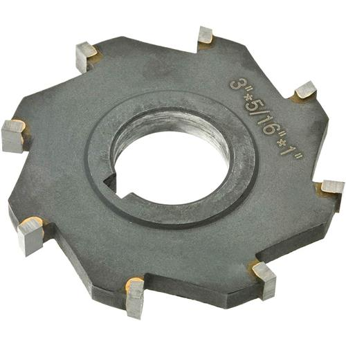 """B.8t >> Carbide Tip Side Mill Cutter 3"""" x 5/16"""" x 1"""" B - 8T 