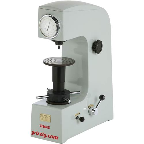 Metal Hardness Testers : Hardness tester grizzly industrial