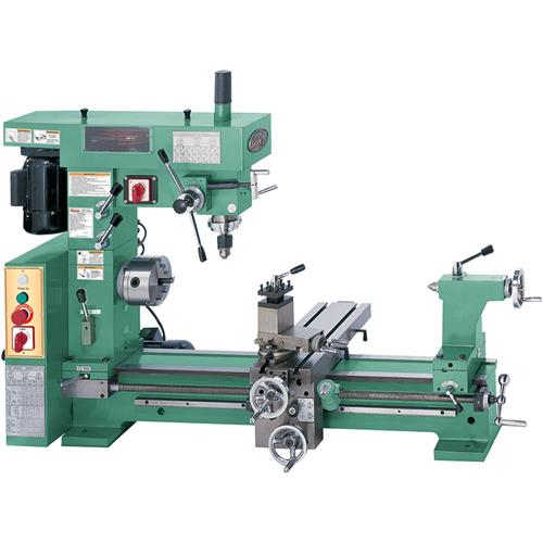 Combo Lathe Mill Grizzly Industrial