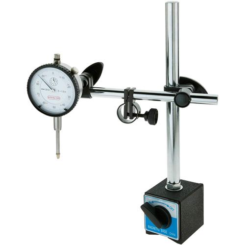 Dial Indicator Accessories : Magnetic base dial indicator combo grizzly industrial
