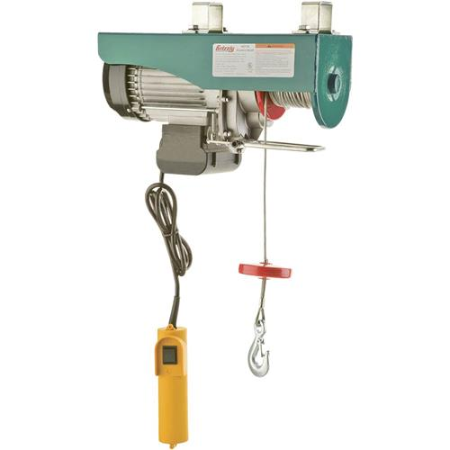Electric Cable Hoist 110v : H grizzly electric hoist hp v ebay
