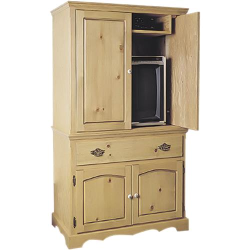 entertainment armoire plans grizzly industrial. Black Bedroom Furniture Sets. Home Design Ideas
