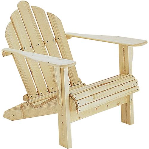 Adirondack chair plans grizzly industrial for Adirondack ottoman plans