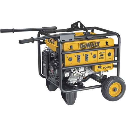 HD 6000 Watt Gas Generator