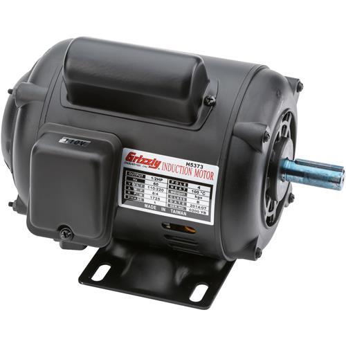 Motor 1 2 hp single phase 1725 rpm odp 110v 220v for g4008 for 5 hp 110v electric motor