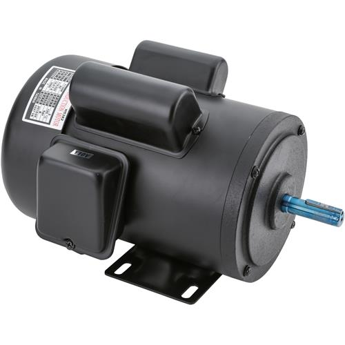 Motor 1 1 2 hp single phase 3450 rpm tefc 110v 220v for 2 hp electric motor single phase