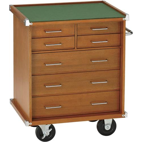 "You Model And Act Reviews >> 23"" Oak 7 Drawer Cabinet 