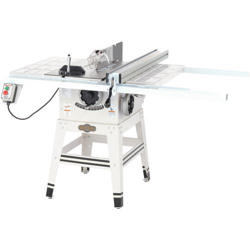 Shop fox t21853 10 contractor saw woodworking talk as with any of these sawst aligned well put a good blade on it and it should serve you well greentooth Image collections