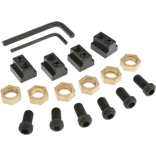 Pc t slot clamping nut kit grizzly industrial