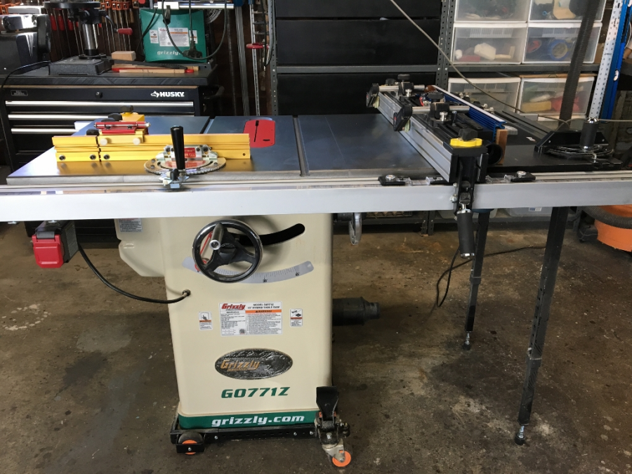 10 hybrid table saw with t shaped fence grizzly industrial view all customer images greentooth Images