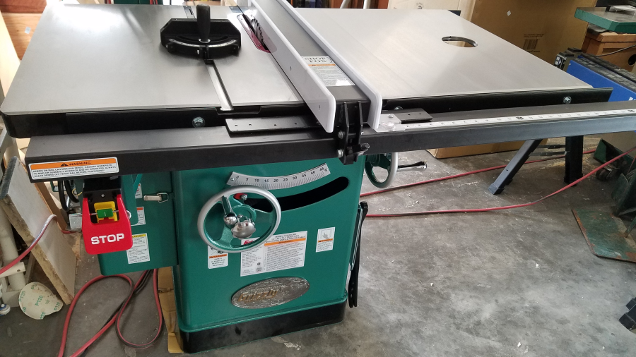 10 5 hp 240v cabinet left tilting table saw grizzly industrial the customer service was great in sending me replacement parts that i received in 3 days best value for a 5 hp unit by far greentooth Images