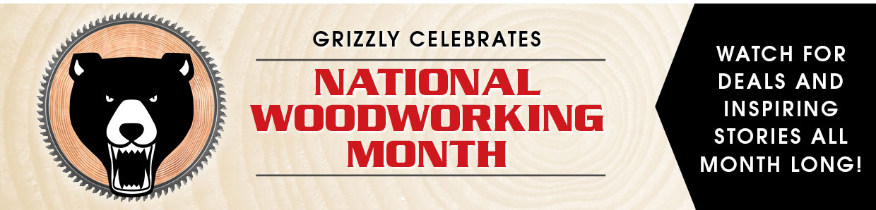 National Woodworking Month