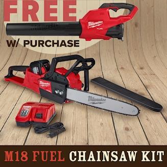 Milwaukee Chainsaw Bundle