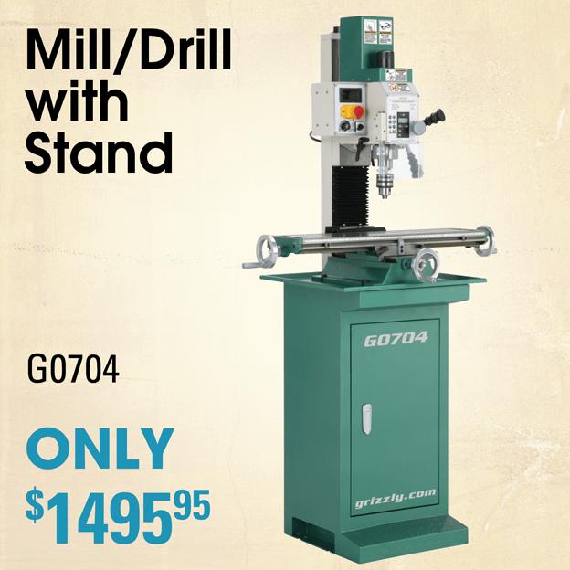 G0704 Mill Drill