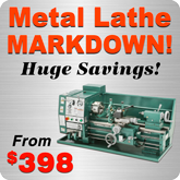 Metal Lathe Markdown