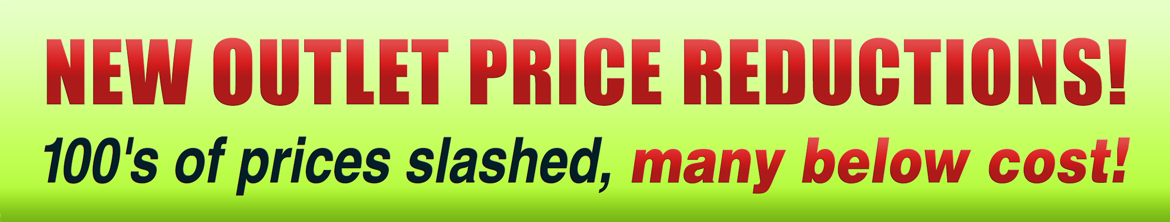 Outlet Price Reductions