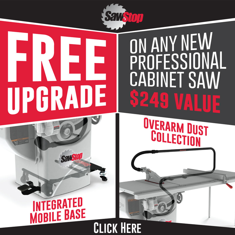 SawStop Upgrade