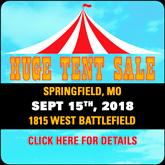 MO2 Tent Sale