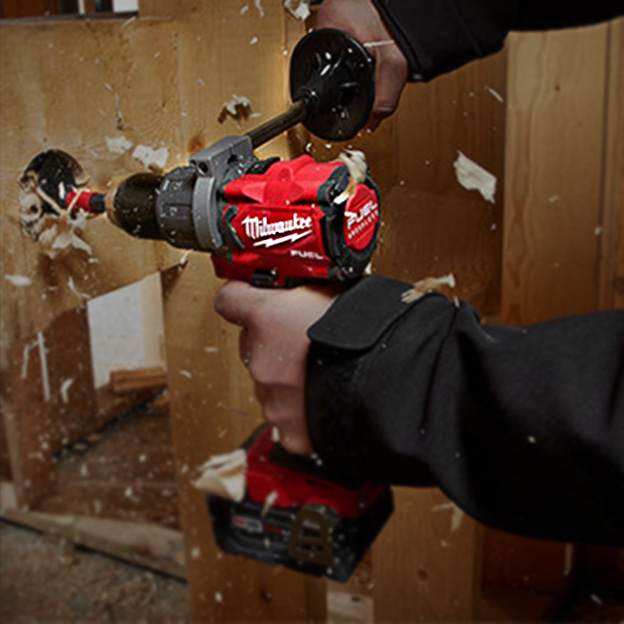The best selection of M12, M18 and Red Lithium cordless tools including Super Hawg, Hackzall and Sawzall for demolition, plumbing and landscaping.
