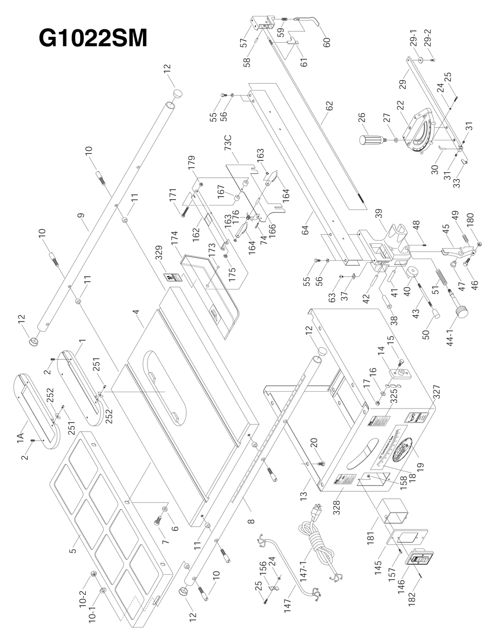 Grizzly table saw wiring diagram wiring data shop tools and machinery at grizzly com black decker table saw parts grizzly table saw wiring diagram greentooth Choice Image