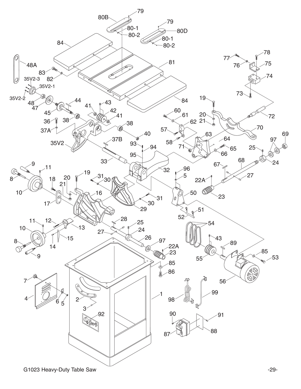 Grizzly table saw motors wiring diagram schematic wiring diagram shop tools and machinery at grizzly com rh grizzly com delta table saw motor delta table saw parts greentooth Choice Image