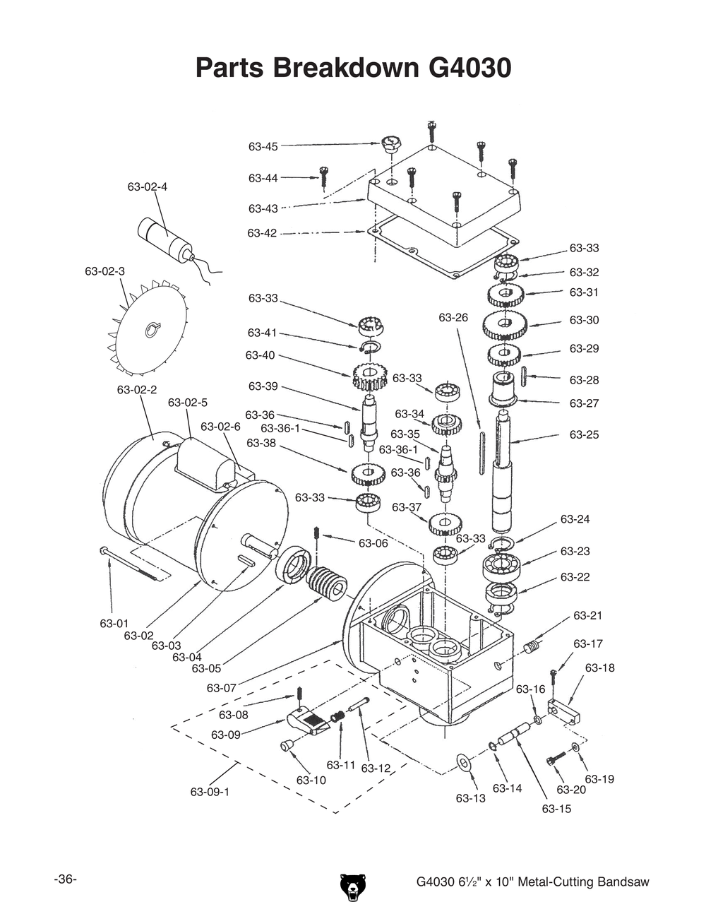 Bandsaw Wiring Diagram Auto Electrical Vanagon Alternator 213 8155 Metal Band Saw Parts