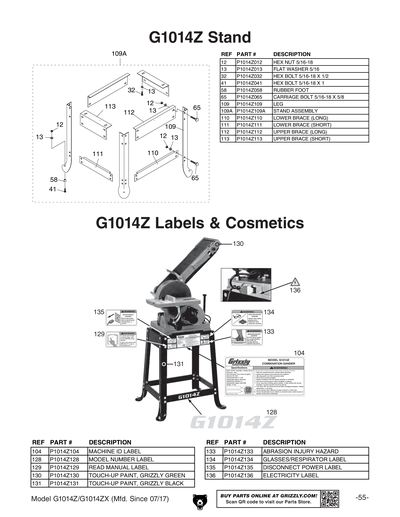 GZDwestcoastre Supplies for New Replacement Belt for Grizzly 3 1//4 Portable Planer G9004