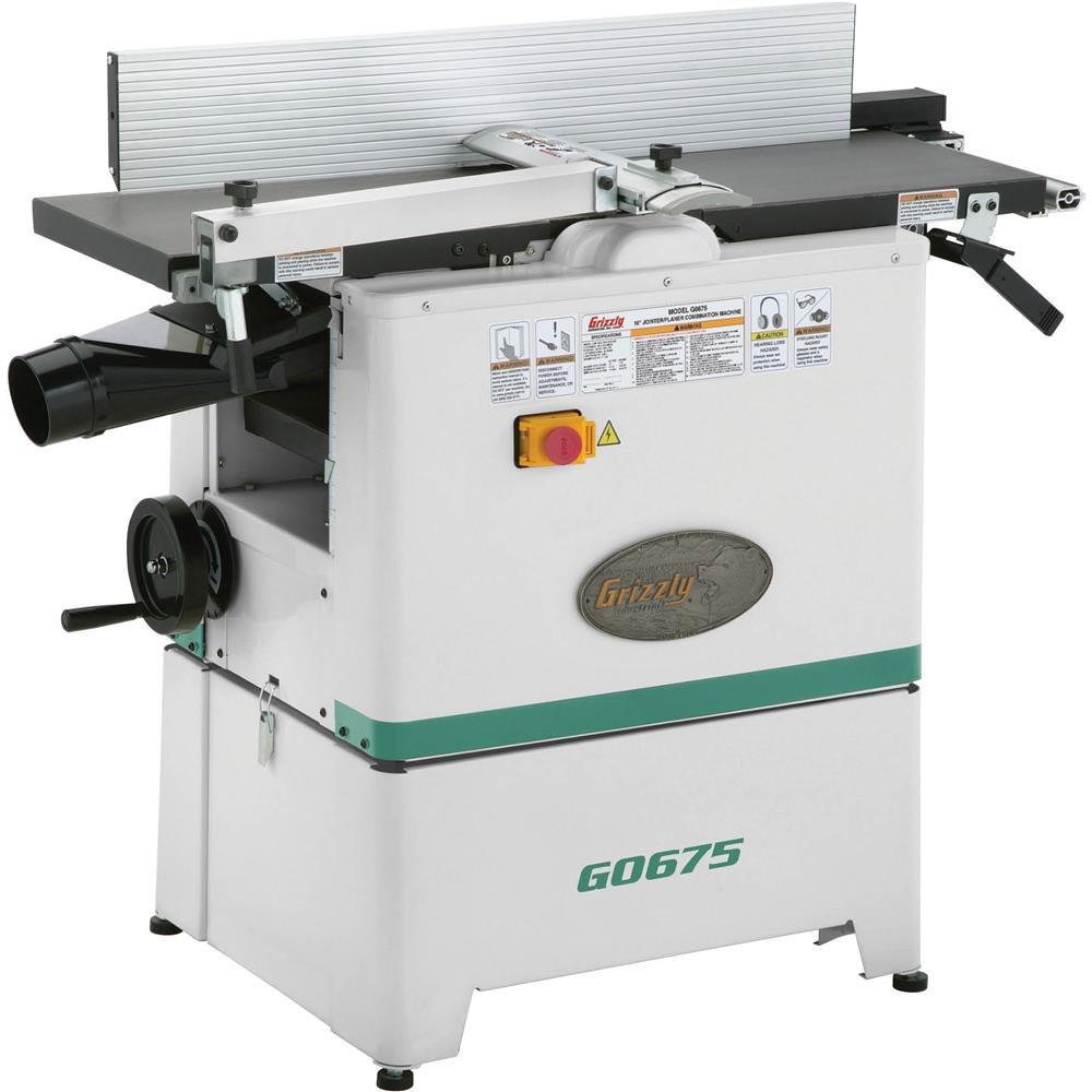 10 2 1 2 Hp Jointer Planer Combo At Grizzly Com