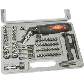 61 pc. Ratchet Screwdriver Bit and Socket Set
