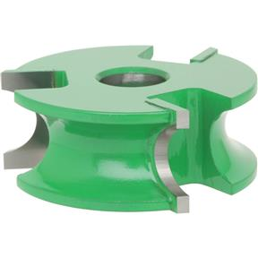 "Shaper Cutter - 1/2"" Half Round, 1/2"" Bore"