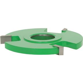 "Shaper Cutter - 1/4"" Rabbeting, 3/4"" Bore"