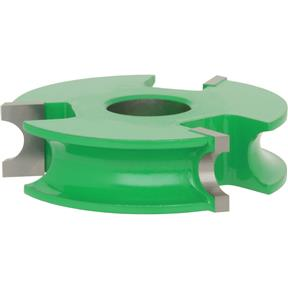 "Shaper Cutter - 3/8"" Bead, 3/4"" Bore"