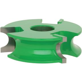 "Shaper Cutter - 1/2"" Bead, 3/4"" Bore"