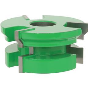 "Shaper Cutter - 1"" V-Paneling Cutter Set, 3/4"" Bore"