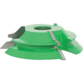 "Shaper Cutter - Double Lock Miter, 3/4"" Bore"