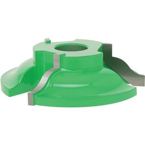 "Shaper Cutter - Reversible Detail Ogee, 3/4"" Bore"