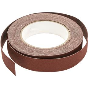 "1"" x 30' A/O Sanding Roll 100 Grit, Cloth"
